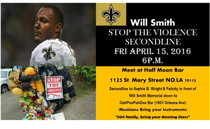 EVENT: LVRC at Will Smith's Second Line